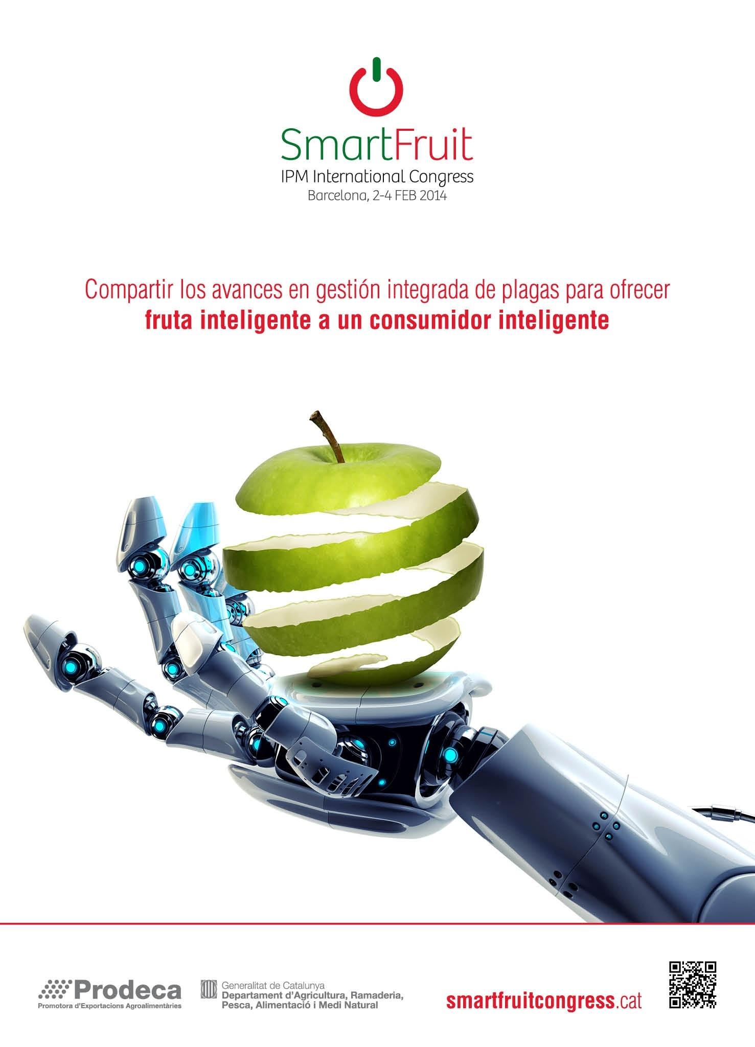 El congreso SmartFruit reunirá en Barcelona a expertos mundiales en gestión de plagas