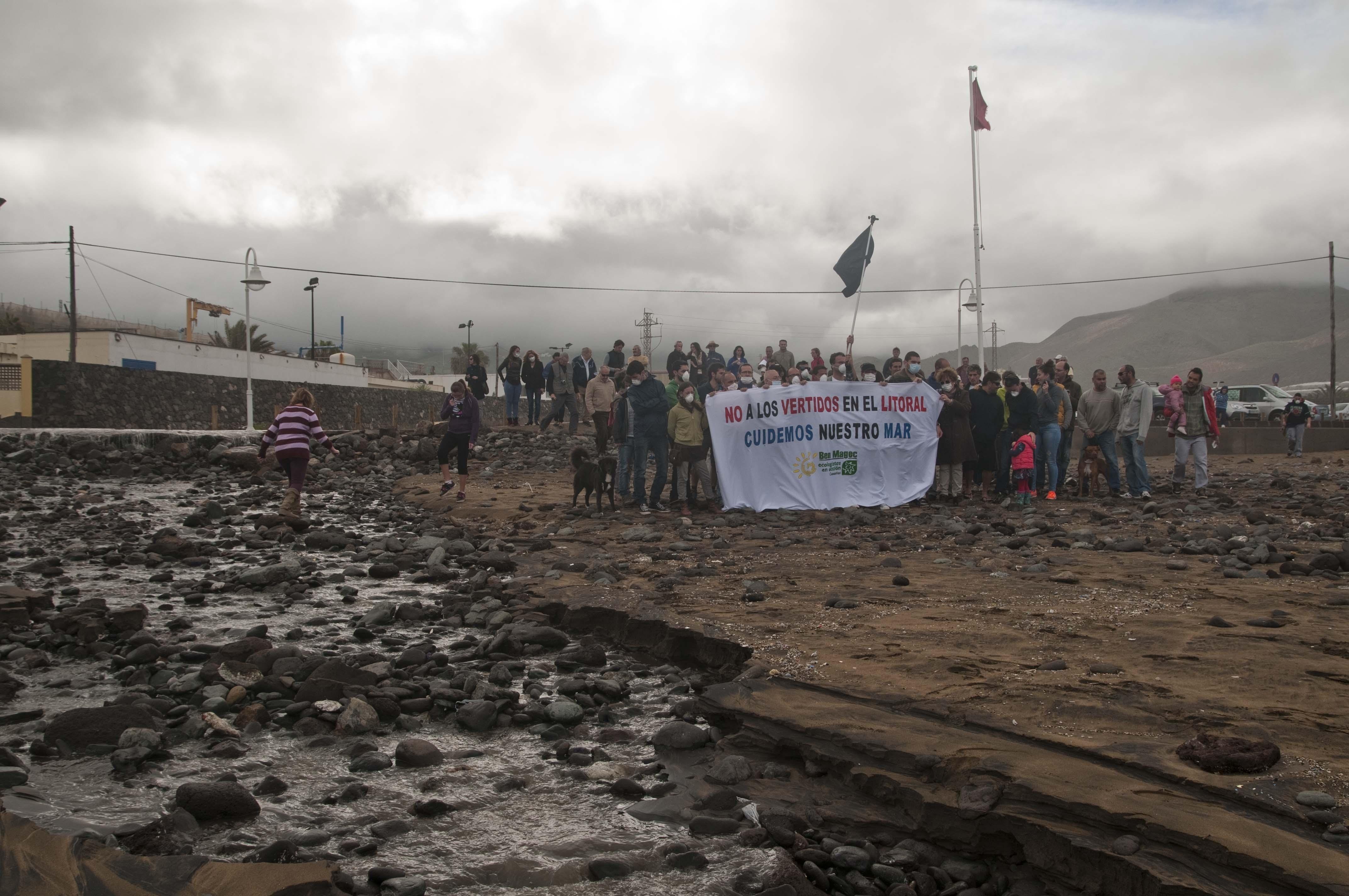 Ben Magec denuncia los «innumerables» vertidos de aguas residuales en Gran Canaria