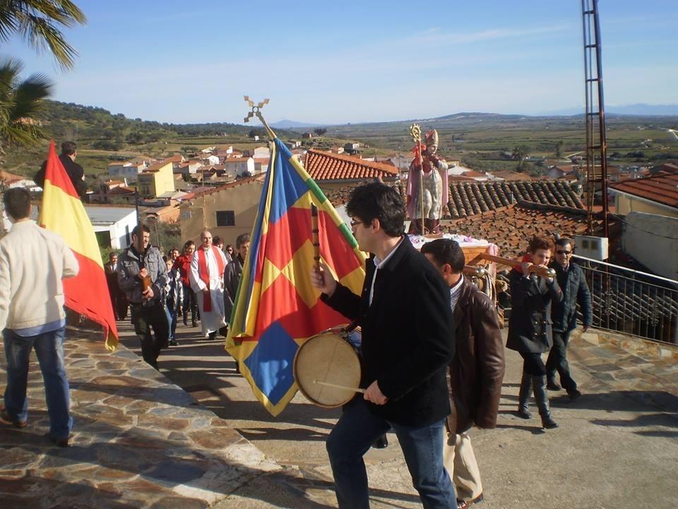 Casillas de Coria (Cáceres) celebra las Fiestas de San Blas