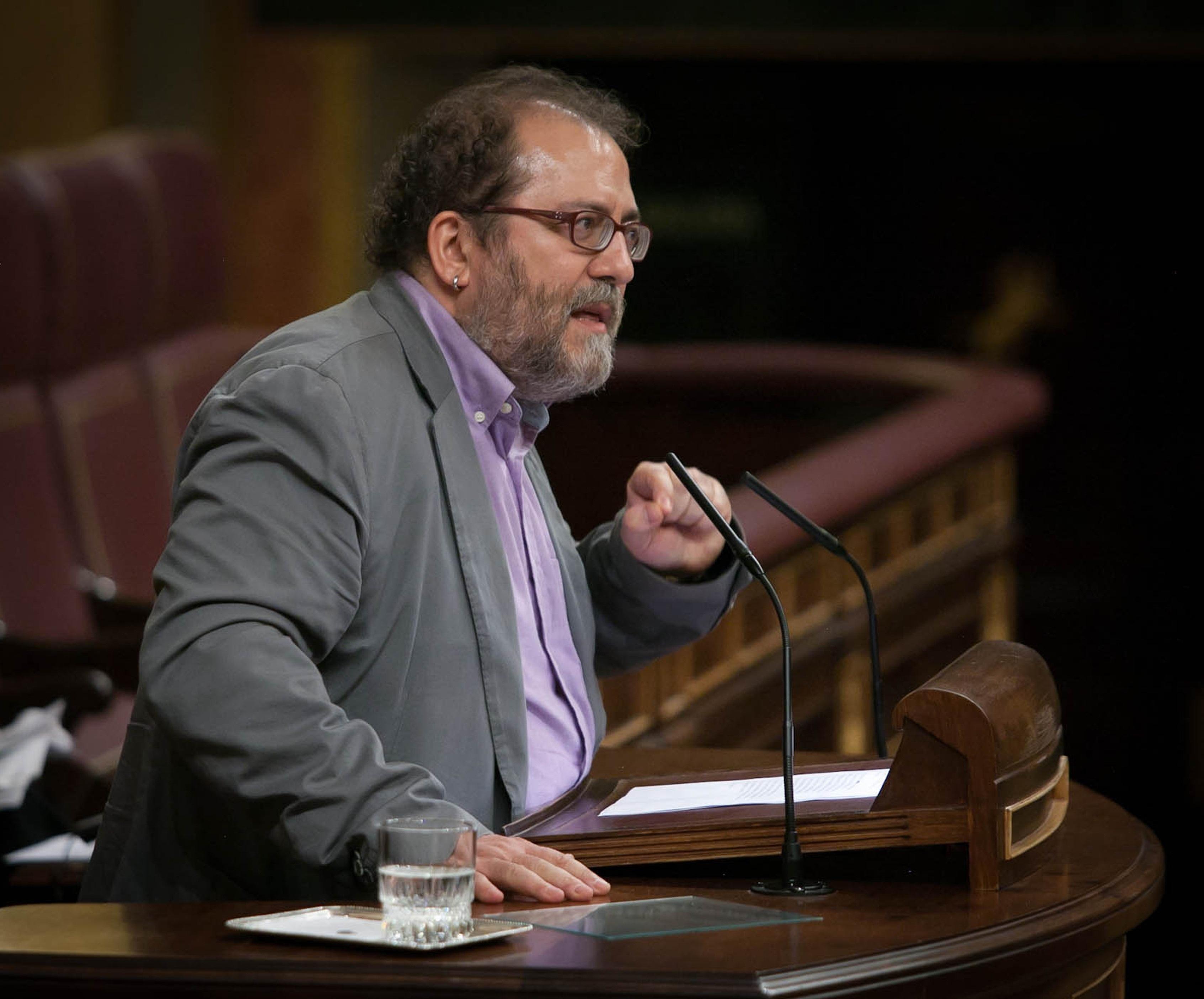 Chesús Yuste (CHA) reclama al Gobierno central que atienda las demandas de los autónomos