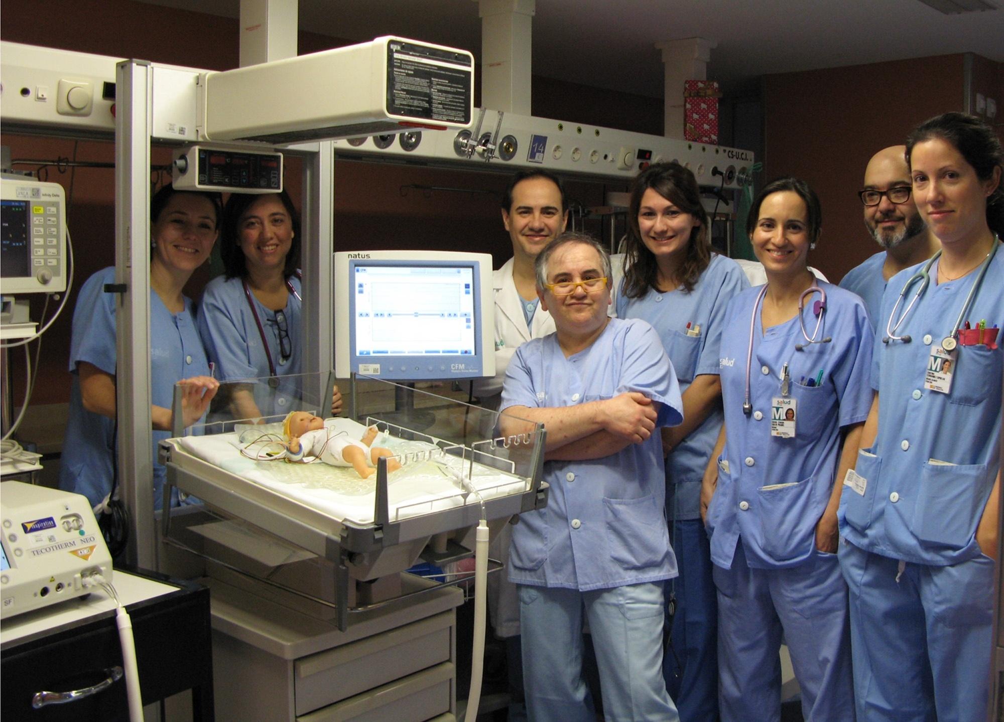 El Hospital Infantil Miguel Servet realizará hipotermia terapéutica en recién nacidos
