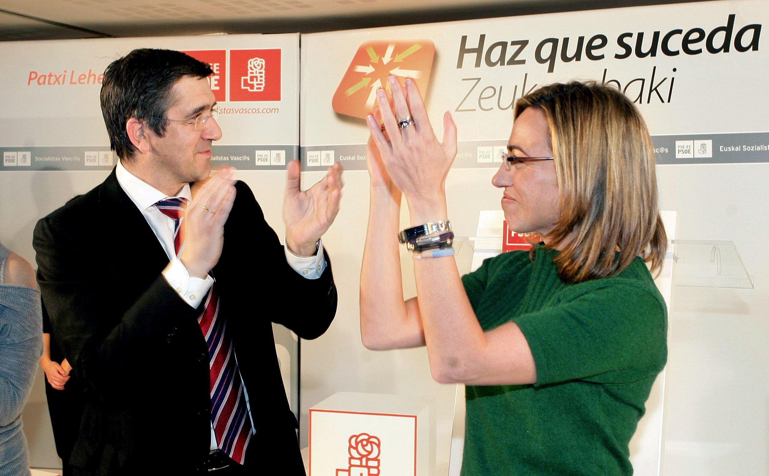 Izquierda Socialista prevé unas primarias entre Patxi López y Chacón