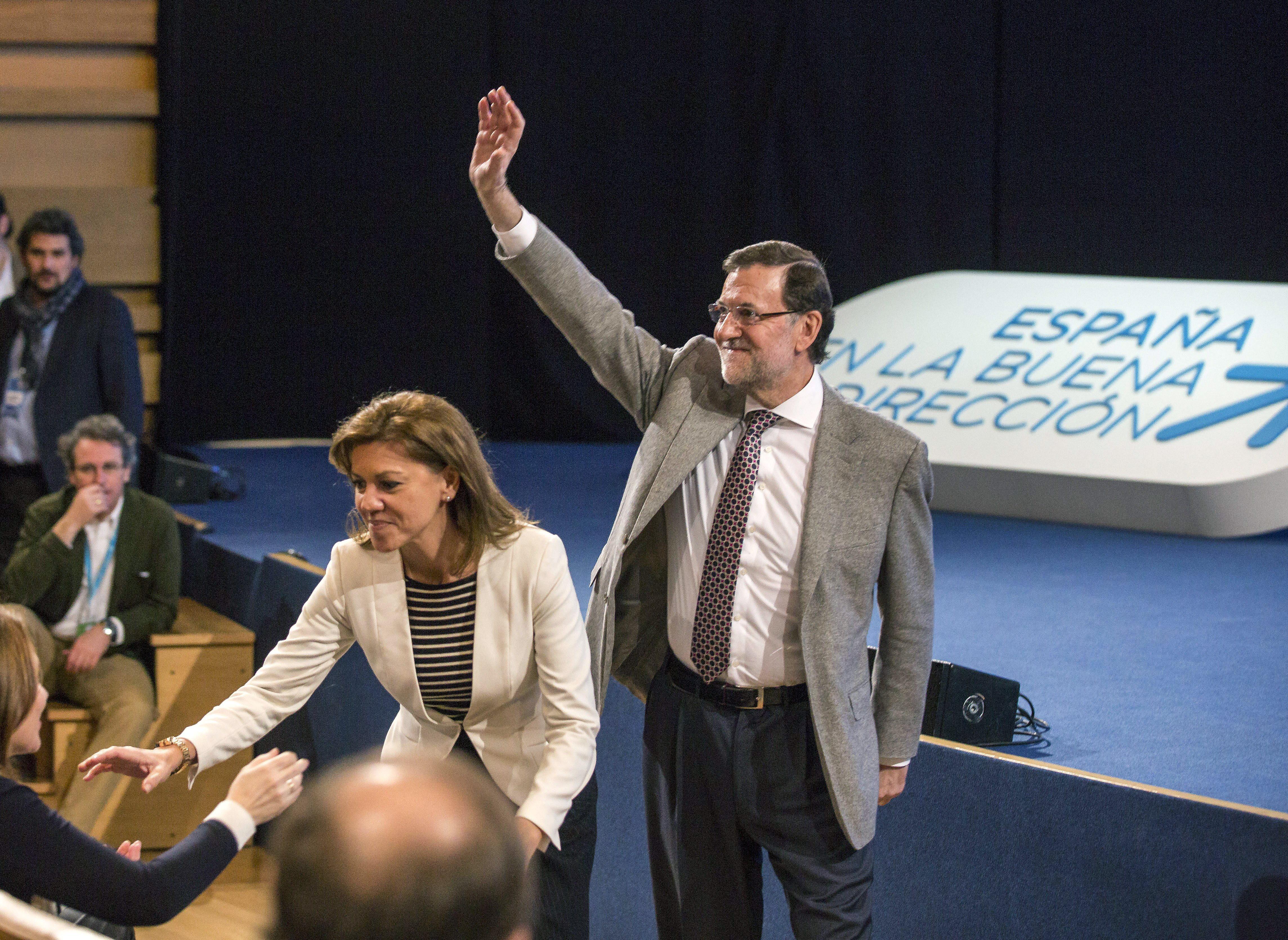 Rajoy afirma que el PP «está donde siempre» y «nunca olvidará» a las víctimas