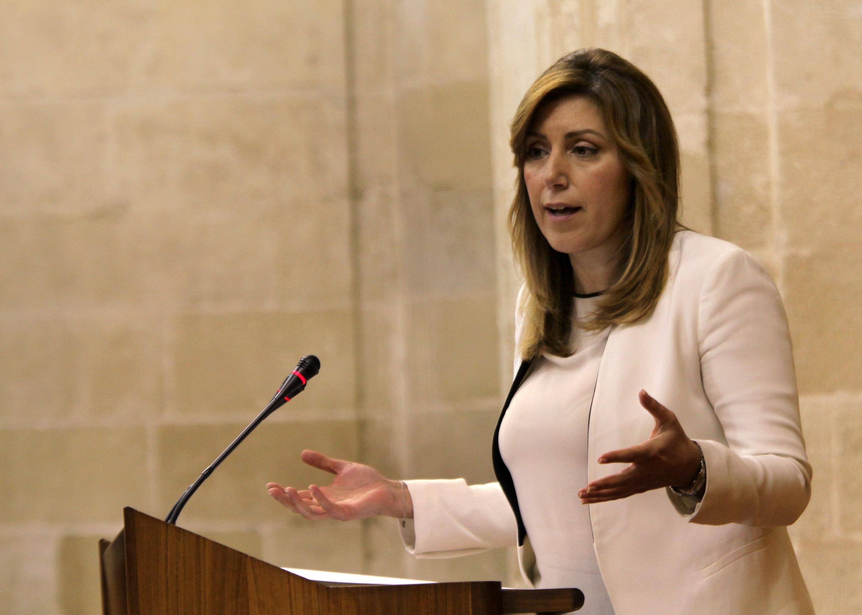 Susana Díaz anuncia que Andalucía cumplió en 2013 el objetivo de déficit