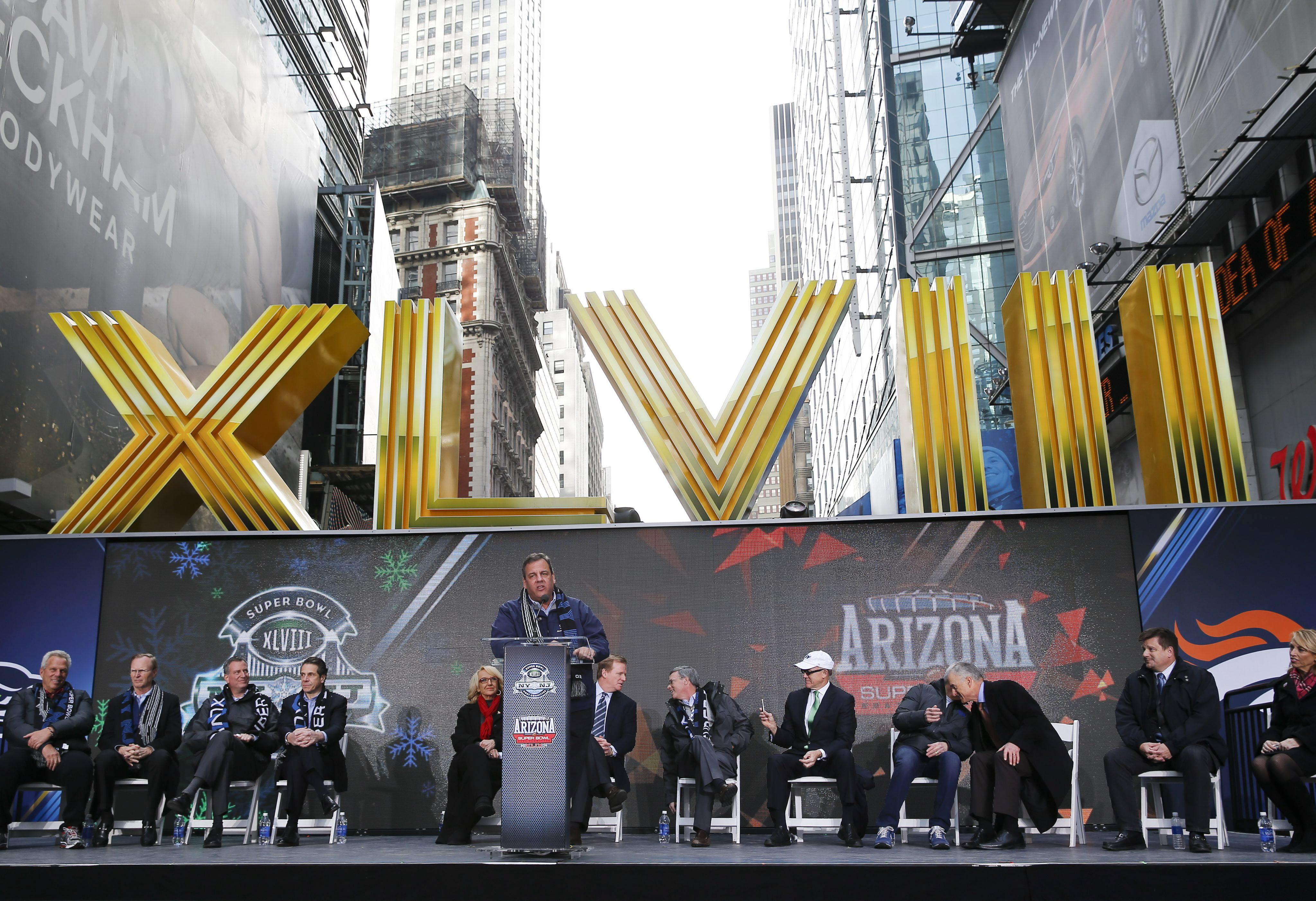 Estados Unidos cuenta las horas para el gran circo del Super Bowl