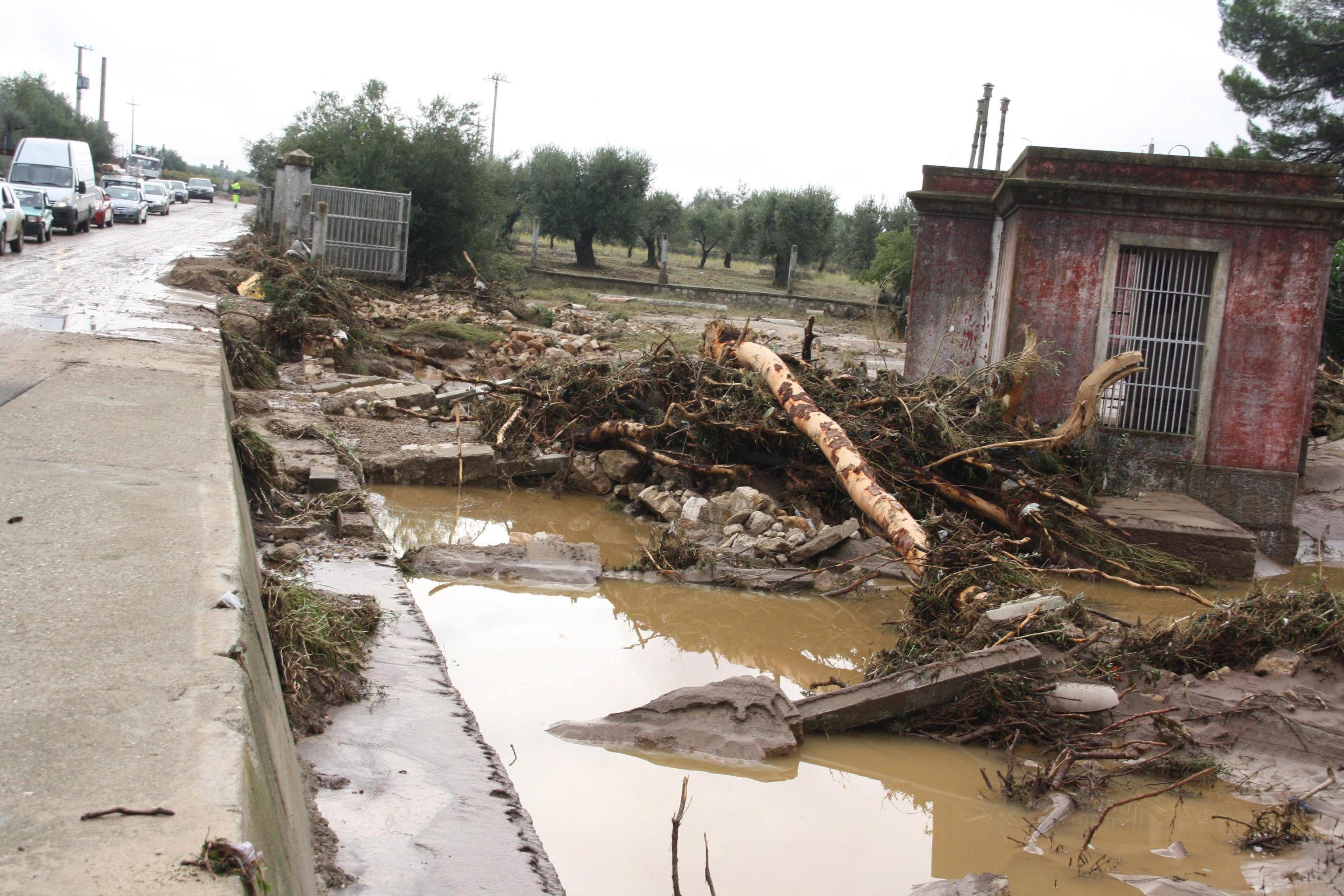 Tres muertos por el mal tiempo que azota Italia