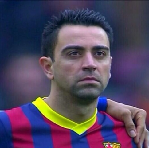 Xavi en El País: «La palabra fútbol debería llevar una foto de Luis en el diccionario»
