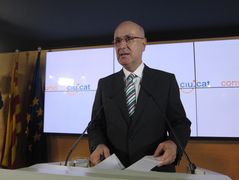 Duran pide a la Mesa del Congreso priorizar el debate de la iniciativa del Parlament