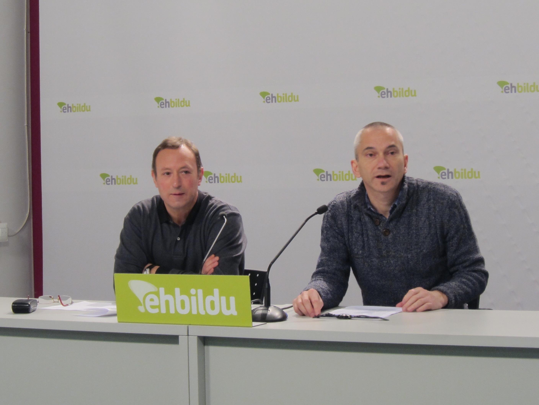 EH Bildu constata que el PP continúa con «políticas del pasado» pese a que «Euskal Herria está en un nuevo tiempo»