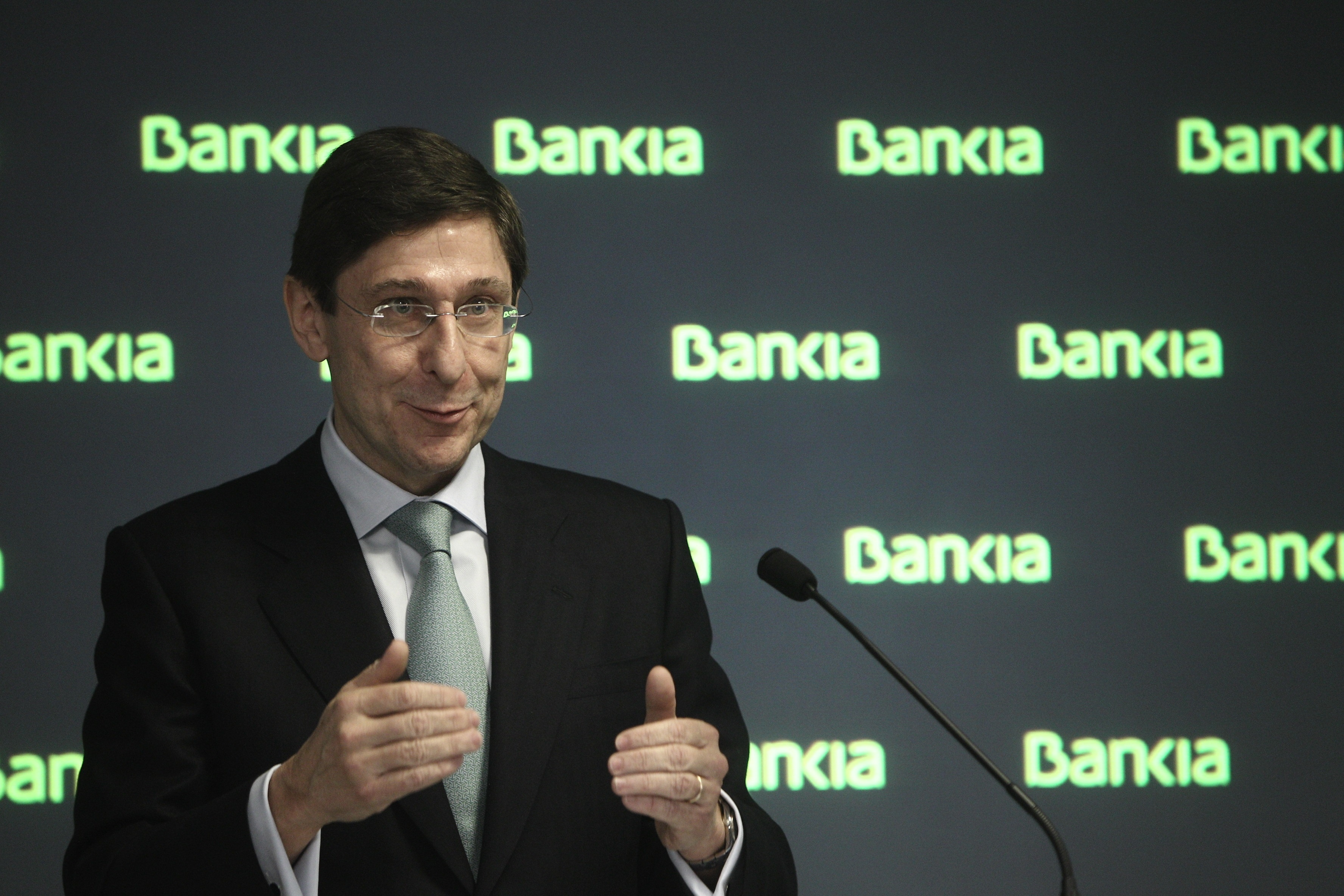 Goirigolzarri avisa de que el primer tramo para privatizar Bankia debe dejar «muy buen sabor de boca»