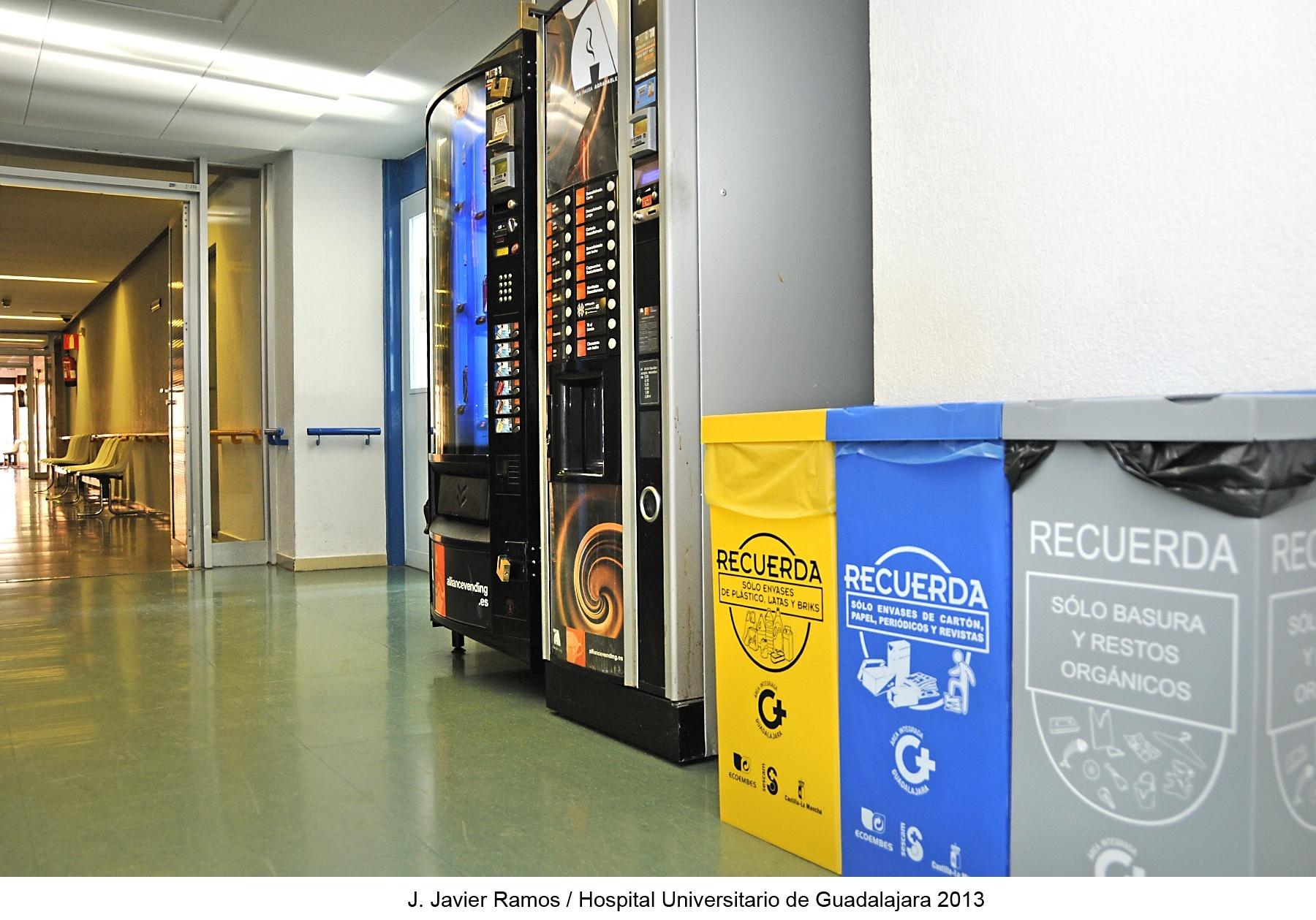 Hospital Universitario de Guadalajara ha reciclado más de 45.000 kilos de papel y cartón en 2013