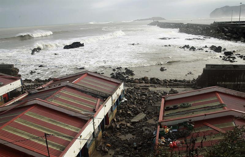 Encuentran restos humanos diseminados en la playa de Portomaior de Pontevedra