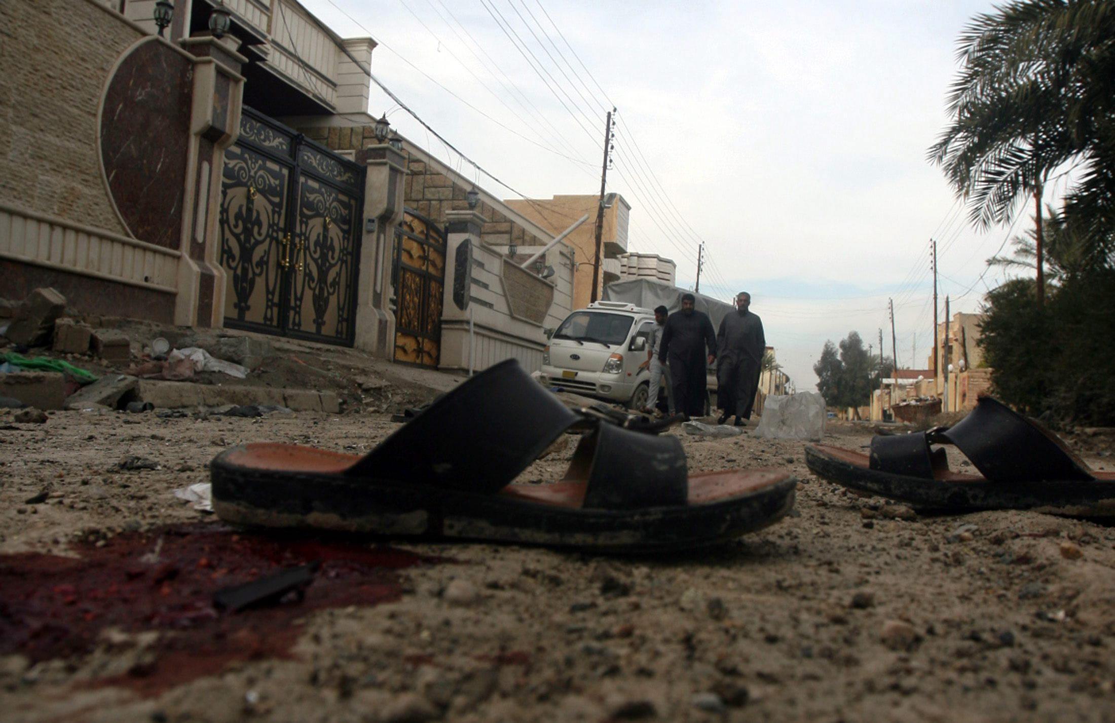 Al menos 21 muertos en una neva jornada de atentados y violencia en Irak