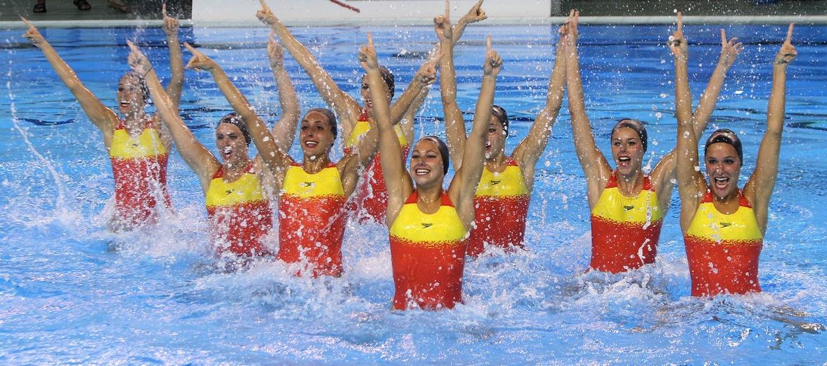 Demostraciones, recepciones y charlas, algunas de las actividades de la selección de natación sincronizada en La Rioja