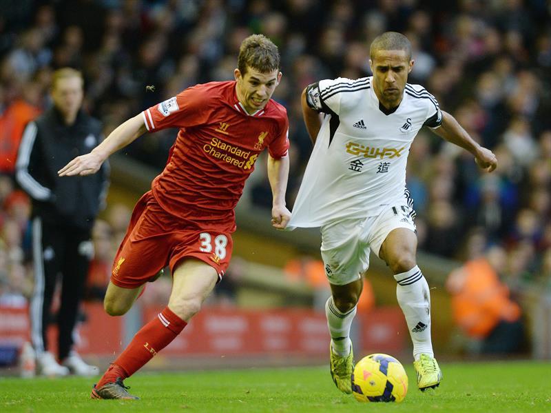 El Liverpool y el Swansea protagonizan un duelo trepidante con 7 goles