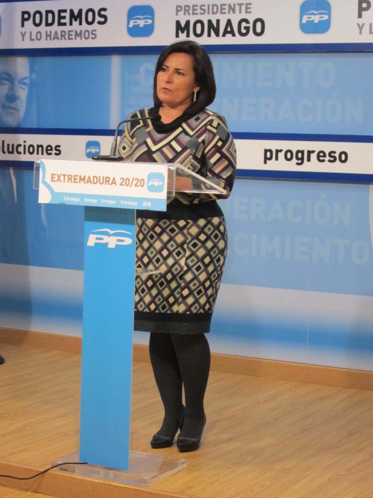 El PP extremeño pide al Gobierno regional que defienda en Zaragoza la «igualdad de oportunidades» para Extremadura