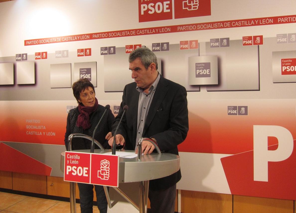 El PSOE «irá de la mano» con CyL en financiación si se quita la «camiseta del PP» y se pone la de los ciudadanos