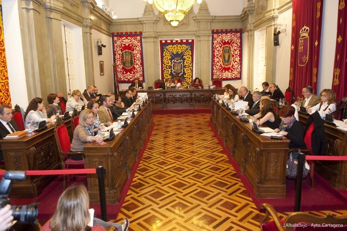 El Rosell y la seguridad ciudadana en las diputaciones, de actualidad en el pleno de Cartagena