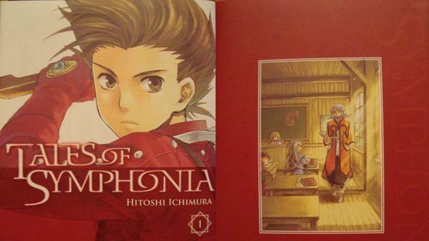 Tales of Symphonia dispone de un manga basado en el juego