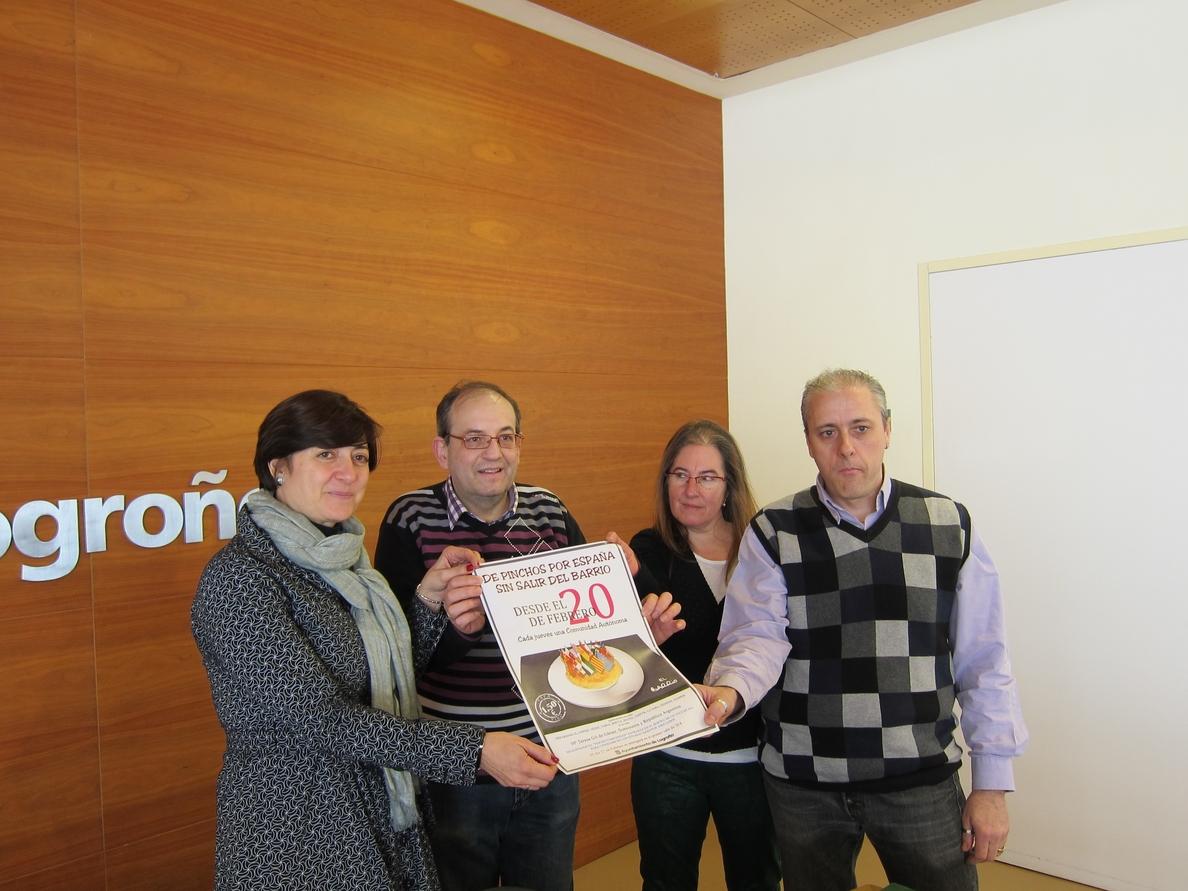 La 4ª edición de »De pinchos por España sin salir del barrio» cuenta con 10 establecimientos y durará hasta San Bernabé