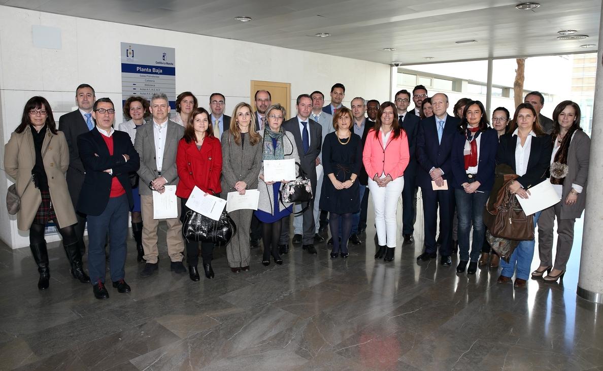 Mar España elogia el impulso del Gobierno de C-LM por la formación de los empleados públicos