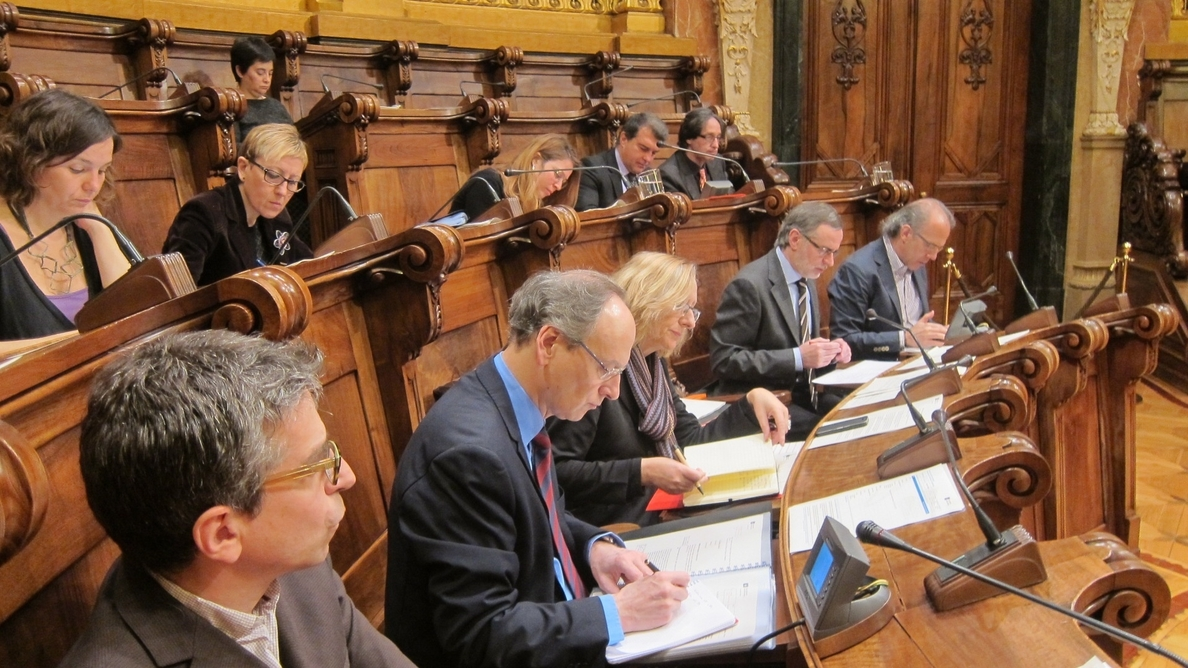 El PSC de Barcelona proclama a los cinco candidatos que concurrirán a las primarias