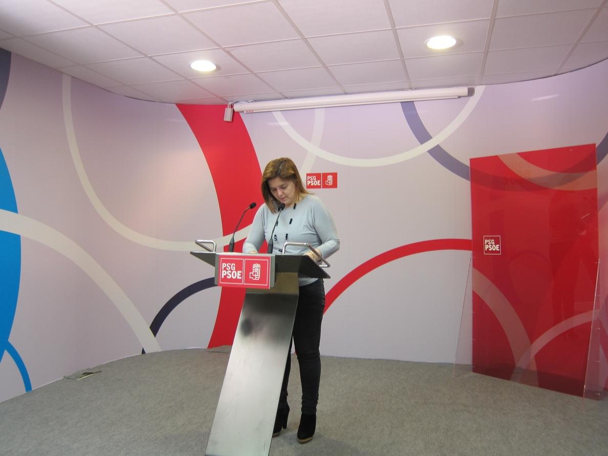 El PSdeG acusa a Feijóo de «coartar» la libre decisión de las mujeres a través de organizaciones «ultraconservadoras»