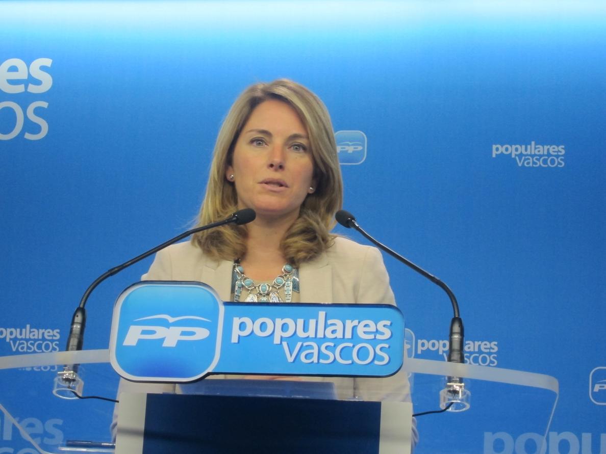 El PP vasco teme que Quiroga tenga un bajo respaldo en la votación de hoy
