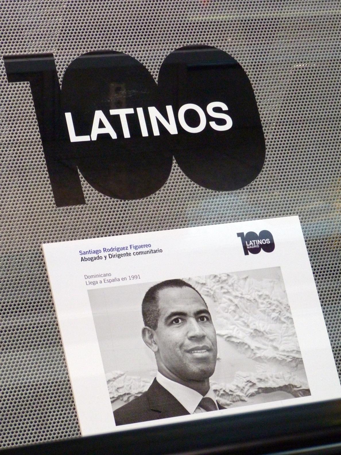 El aeropuerto de Barajas rinde homenaje a cien latinos en una exposición fotográfica