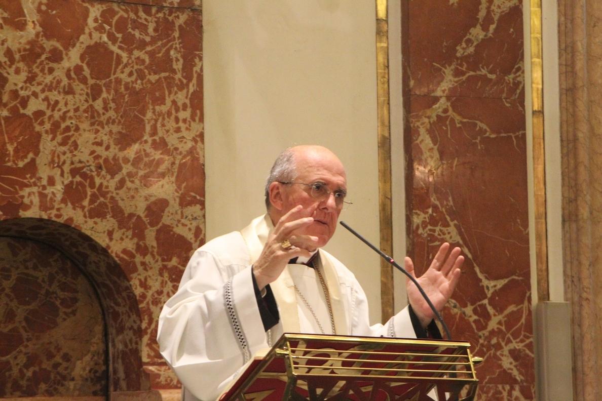 El arzobispo asegura que «la crisis profunda del ser humano es por construir su vida sin Dios»