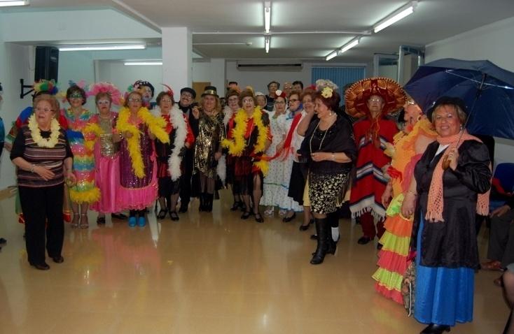 Más de 2.500 mayores celebran el Carnaval en los centros sociales de toda la Región de Murcia