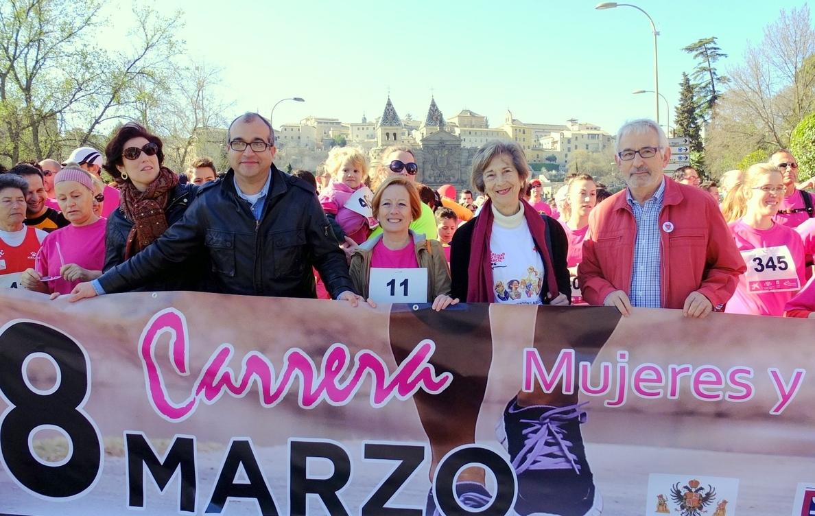 Unas 500 personas participan en Toledo en la I Carrera Solidaria »Mujeres y hombres por la igualdad»
