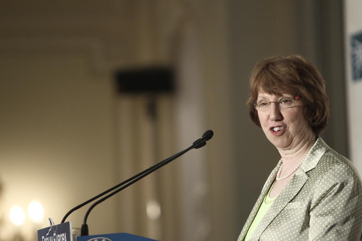Ashton: Será muy difícil conseguir el acuerdo total con Irán sobre el conflicto nuclear