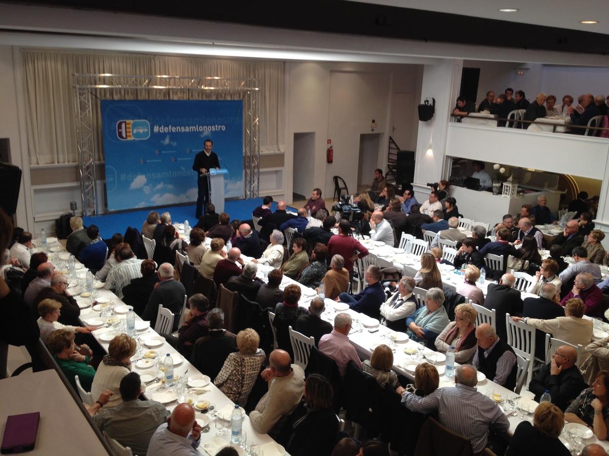 Bauzá dice a los populares que está «obcecado en el cumplimiento» de compromisos