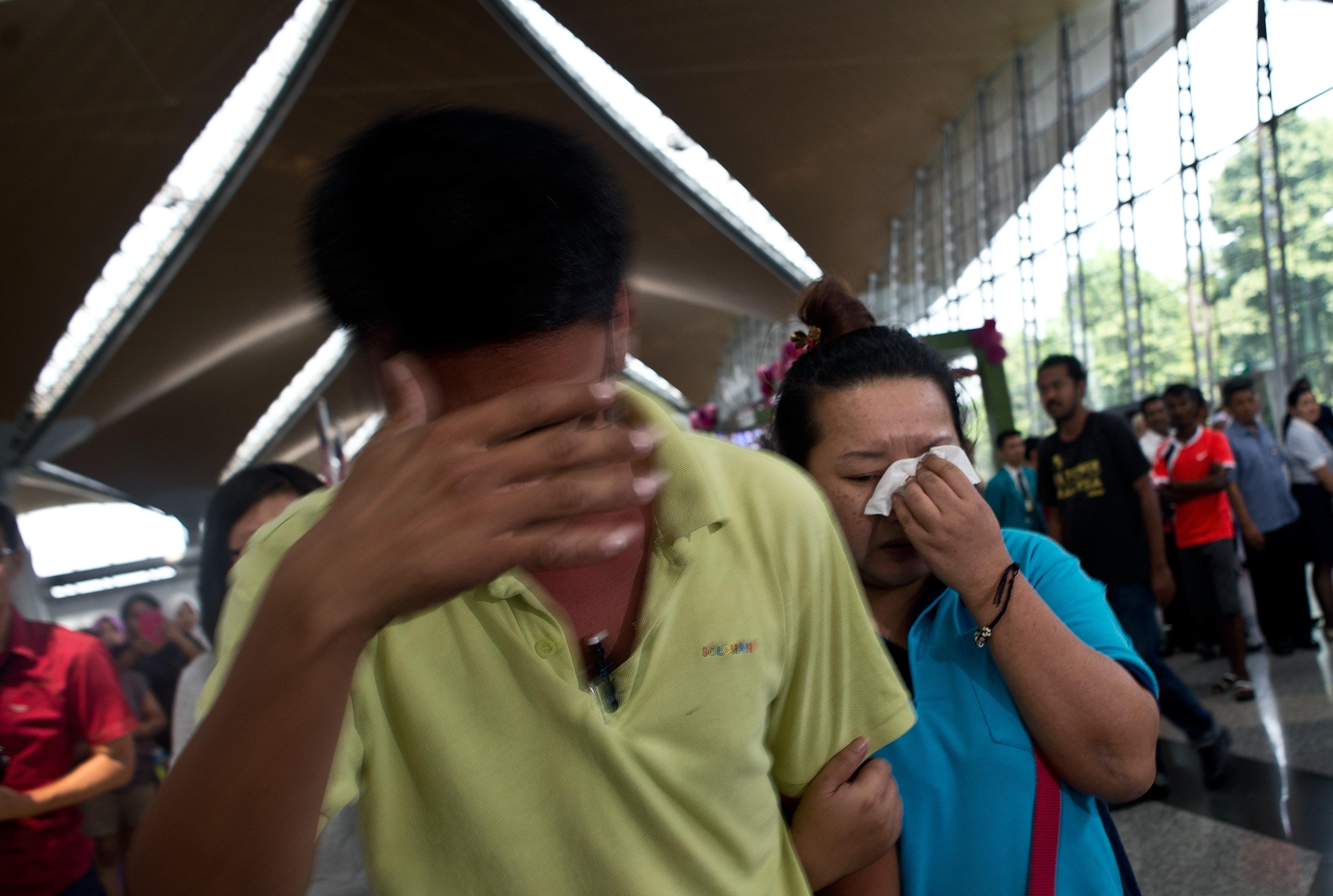 Un grupo de 29 artistas chinos viajaba en el aeroplano desaparecido