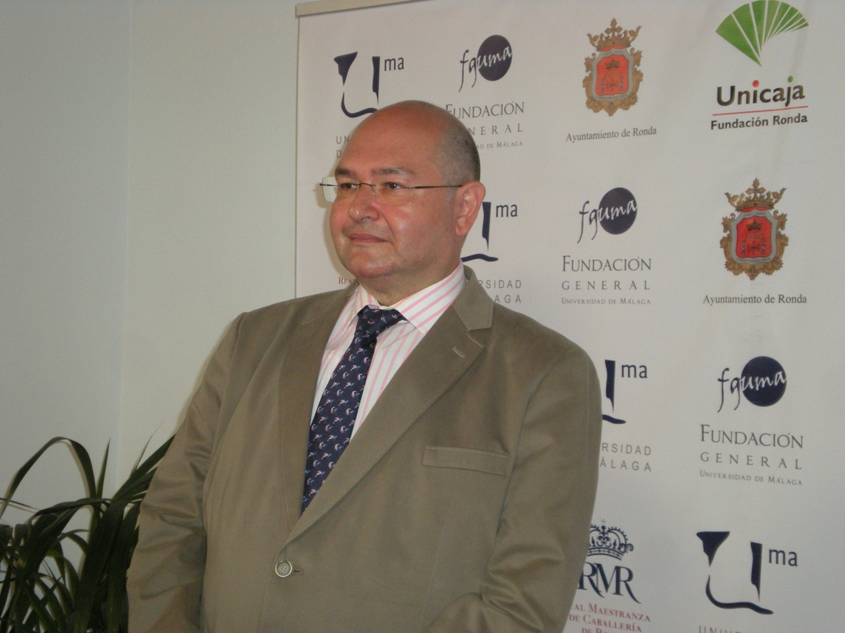 Garrido Moraga considera «un gran honor» su nombramiento como miembro de la Academia de San Telmo