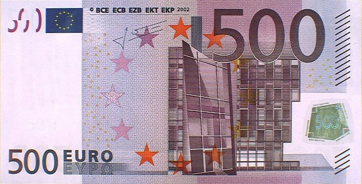 IU-ICV reta al Gobierno a promover la eliminación de los billetes de 500 euros