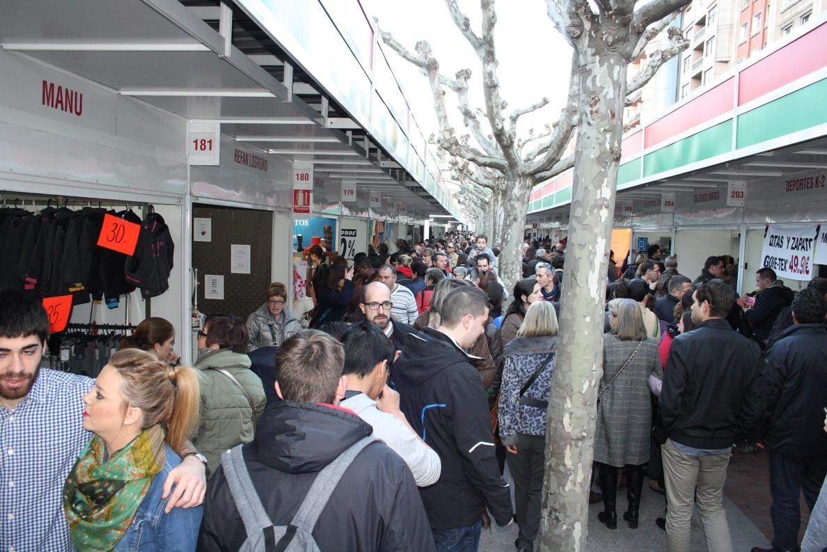 Logrostock sigue consolidándose con «una buena nota» por parte de los miles de visitantes que acuden a la Feria