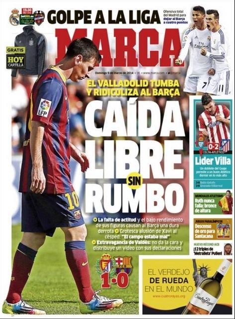 La prensa nacional e internacional se ceba contra el Barça