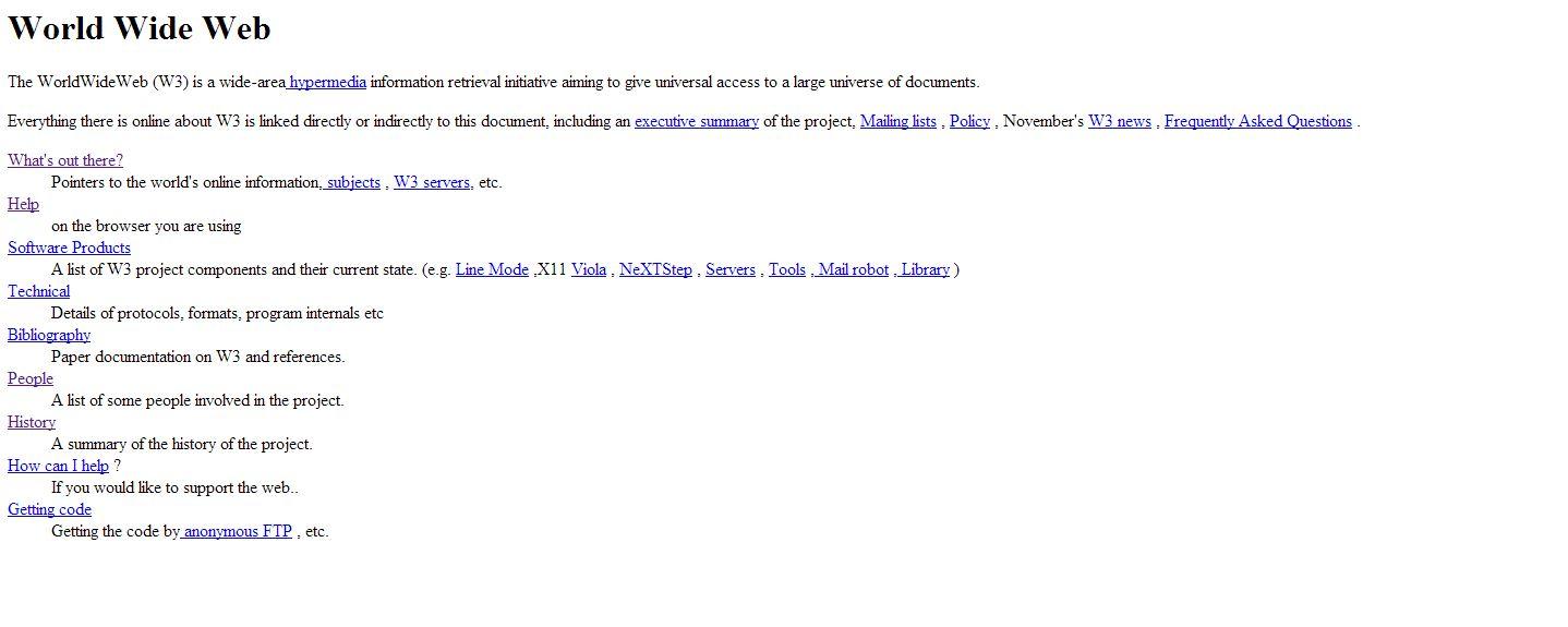 Hace 25 años alguien tecleó www… y cambió el mundo