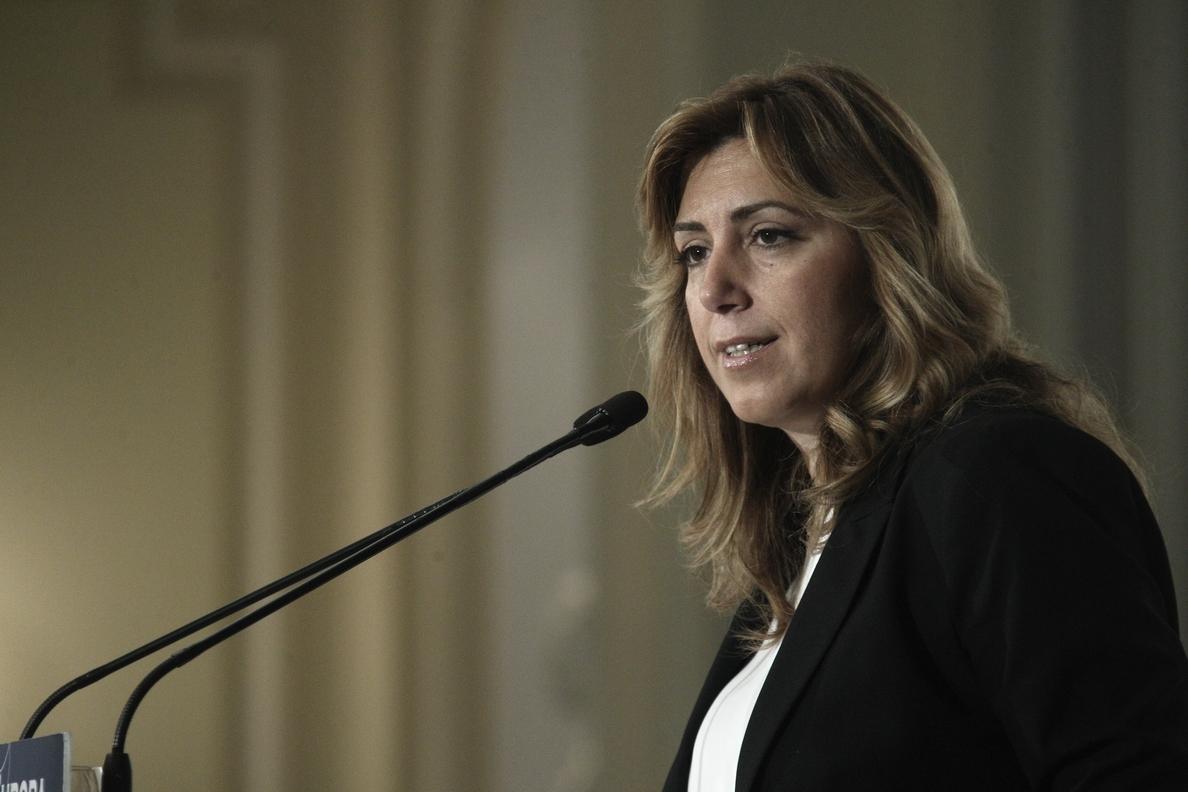 Susana Díaz preside este lunes la entrega de los Premios Meridiana 2014 a la defensa de la igualdad de género