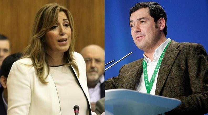 Susana Díaz se reúne este lunes en Sevilla con Moreno para abordar posibles acuerdos