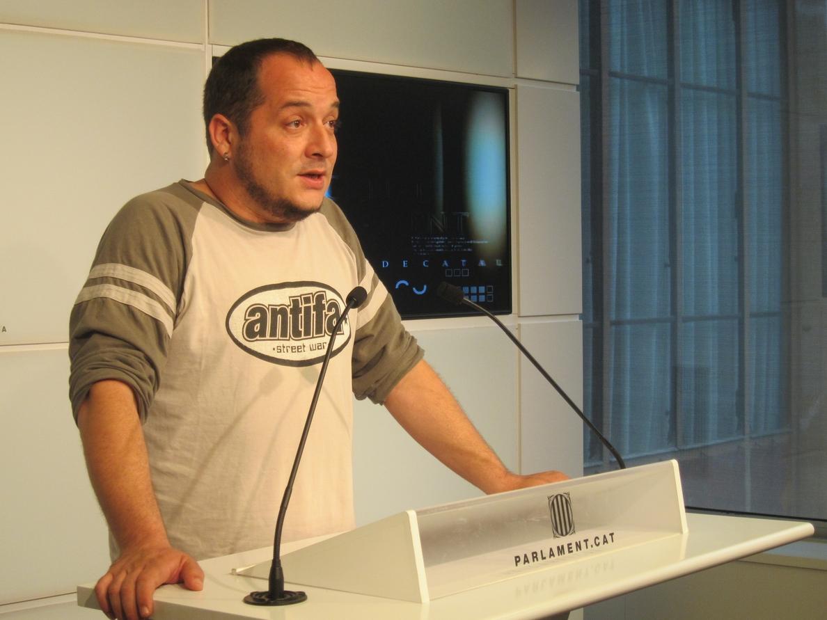 La CUP carga contra ERC por su ambigüedad tejiendo alianzas para las elecciones europeas