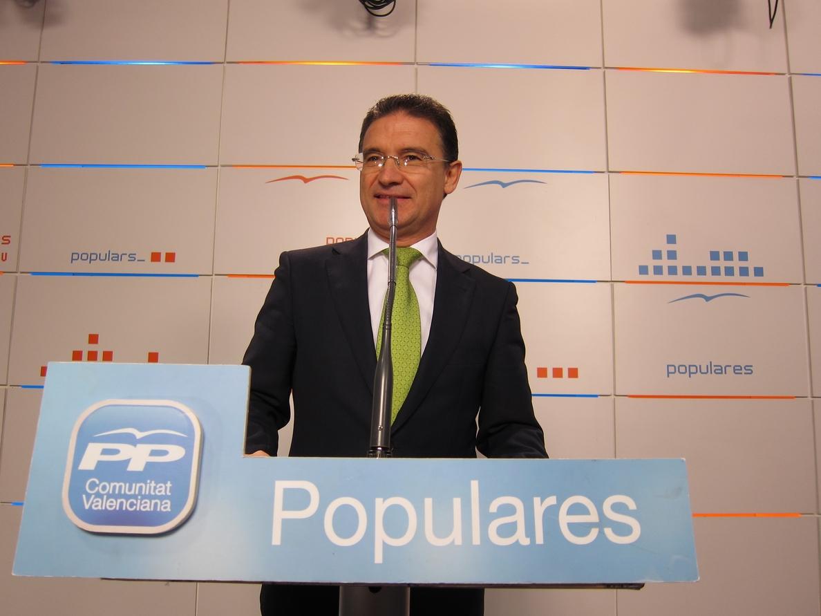 Castellano afirma que Puig «ya no tiene excusas» tras las primaria para «sentarse a hablar» con el PP