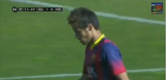 Neymar pasa de un hat-trick a quedarse a cero en Pucela