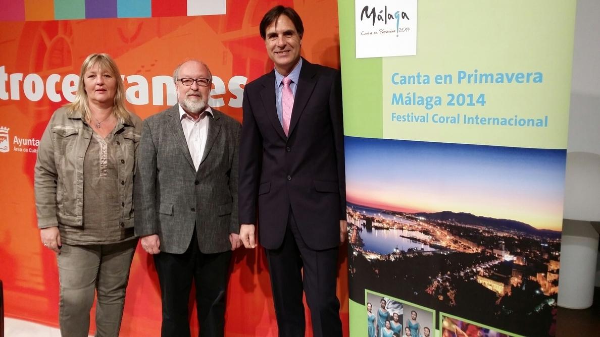 Corales de 12 países celebran esta semana en Málaga su festival internacional