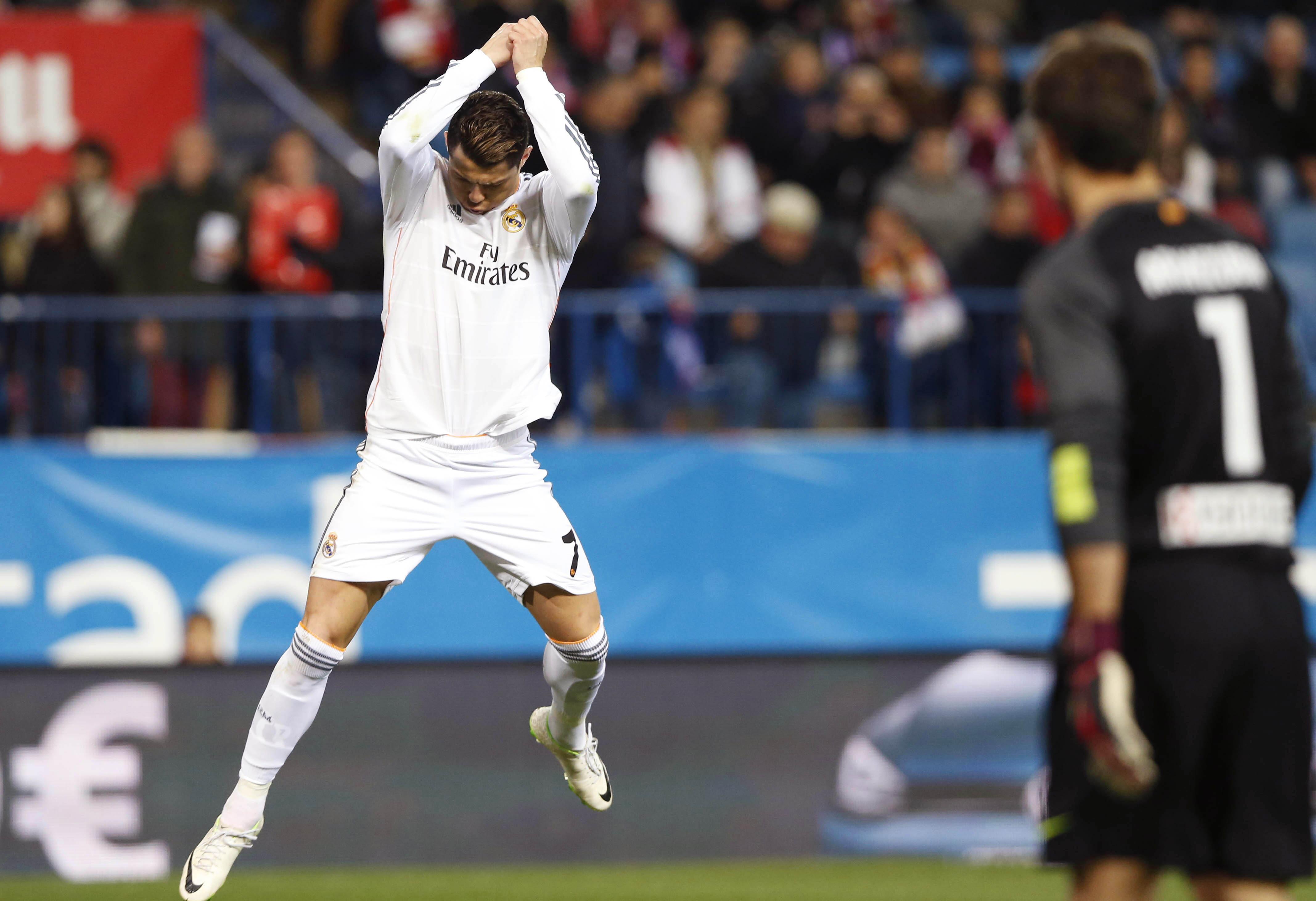 Cristiano Ronaldo volvió al Bernabéu 32 días después marcando