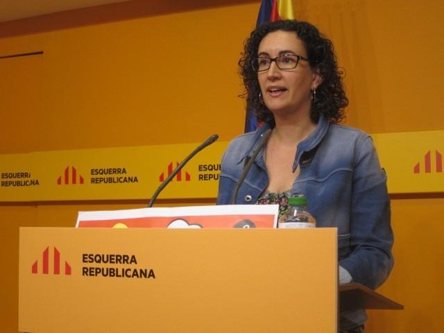 ERC ve «mala intención» en el escrito de Rajoy al Congreso y dice que no puede obstaculizarse