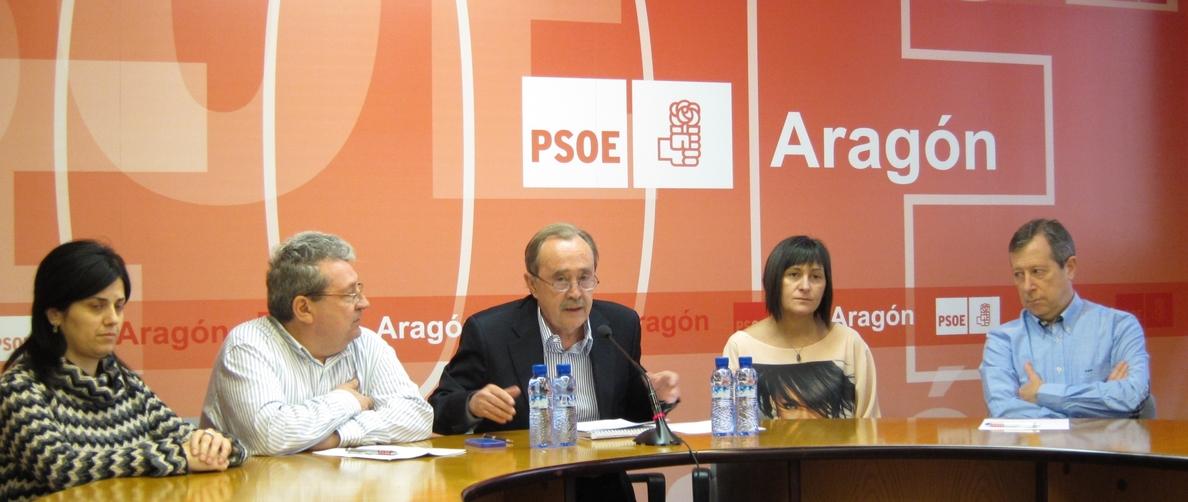 Lambán, proclamado candidato del PSOE a la Presidencia de Aragón
