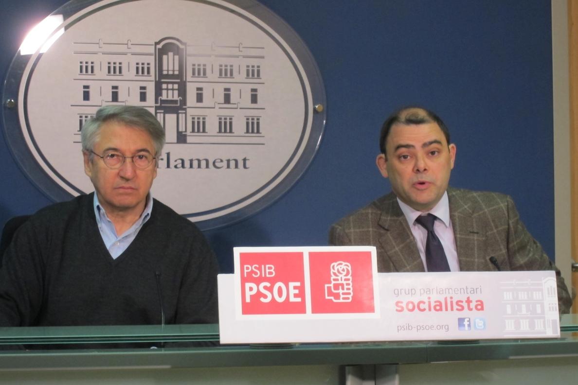 El PSIB advierte que la Ley del Suelo de Baleares nace «sin consenso» y supone la vuelta a un modelo «desarrolista»